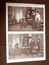 Teatro Manzoni Milano 1910 Congedo Renato Simoni + Paul Heyse di Franz Lembach