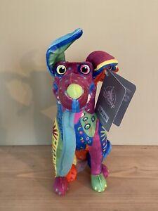 Disney Store Dante Alebrije Colourful Pixar Coco Dog Plush Soft Toy BNWT Miguel