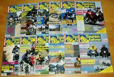 Tourenfahrer 2000 komplett 1-12 Motorrad Reisen Test Technik Jahr Zeitschrift