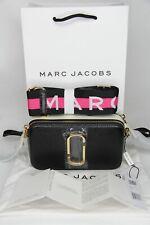 Legendary MARC JACOBS Logo Strap Snapshot Small Camera Bag (100% Original & New)