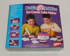Baskin Robbins Ice Cream Cake maker In Box Wham-O R9736