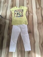Girls Leggings and Top Set - Size S/14 - 5+ items free postage (AU only)