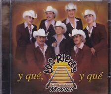 Los Rieleros del Primo Manolo y que CD New Nuevo Sealed