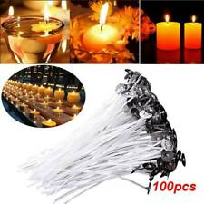 100Pcs Lots 6 Inch 15cm White Candle Wicks Cotton Core Candle Making Supplies