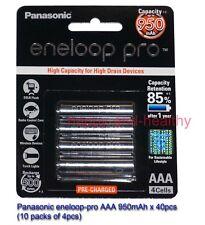 Panasonic eneloop-pro AAA Battery 40 pcs 950mAh Made in Japan 12/2017 FREE POST