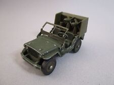 AF383 DINKY TOYS JEEP HOTCHKISS WILLYS LANCE MISSILES MECCANO FRANCE Ref 80B WW2