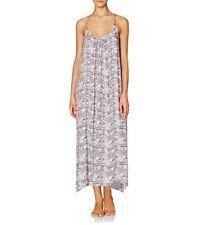 New Heidi Klum Ostia Cover Up Maxi Dress Texture Animal Print Size 12