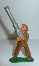 Vintage Barclay Manoil Lead Toy Soldier Anti Aircraft Gunner 774
