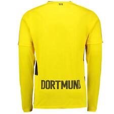 Camisetas de fútbol de clubes internacionales de manga larga en amarillo