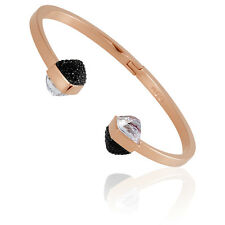 Swarovski Glance Open Rose Gold Medium Bangle 5254011