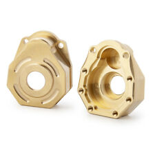 2PCS Heavy Duty Brass Steering Knuckle Portal Cover For 1/10 RC Traxxas TRX-4