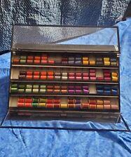 110 Vintage Full Spools Fly Rod Wrap Gude-Wind thread; Display Case