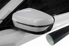 Premium Espejo Carcasas Espejo Tapa Diseño Lámina Negro Brillo Muchas Vehículos
