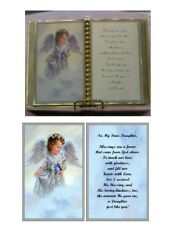 Daughter Birthday/Mother's Day Gift/Christmas Gift /Angel with Bluebird