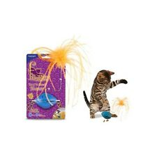 Funkitty Twist n Treat Teaser Cat Toy - all ages engaged active & stimulated fun