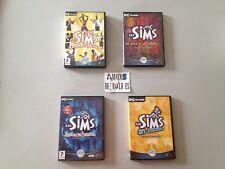 Les Sims Double Deluxe (Ca vous change la vie + Surprise partie) + 3 addons PC