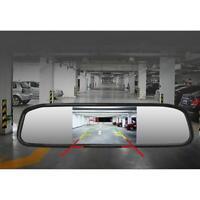 4.3'' TFT LCD Monitor Mirror Screen Car Back Up Camera Kit Rear View System