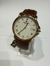 Orologio Uomo Vintage Raymond Weil Pelle Gold 2915520 Swiss Made