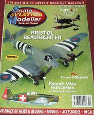 Scale Aviation Modeller Magazine 3.10 Bristol Beaufighter,Morane Saulnier MS406