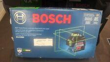 Bosch Gll3 300g 360 Three Plane Leveling Alignment Line Laser New 1010