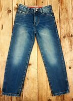 BOYS CLOTHES AGED 7 YRS, BODEN 100% COTTON STRAIGHT LEG BLUE CASUAL DENIM JEANS