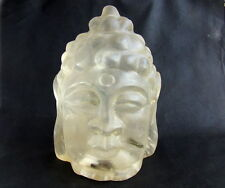 CHINESE CRYSTAL LARGE  BUDDHA HEAD--9440g