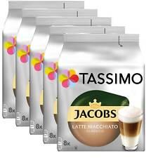 5 x Tassimo Jacobs Latte Macchiato Classico   40 T Discs