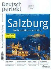 Deutsch perfekt, Heft Dezember 12/2014: Salzburg - inkl. deins! +++ wie neu +++
