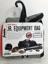 Franklin Tee Ball Jr. Equipment Bag 3 Bat Storage Fence Hook NEW