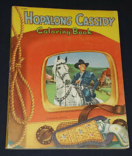 1951 - HOPALONG CASSIDY - COWBOY /WESTERN /MOVIE - COLORING BOOK