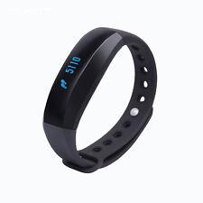 CUBOT V2 Smart Bluetooth Heart Rate Monitor Fitness Tracker Sport Bracelet Black