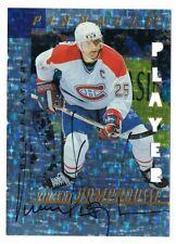 1997-98 Be A Player BAP Autograph Prismatic Die-Cut #157 Vincent Damphousse