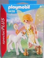 PLAYMOBIL Special Plus 9438 Sonnen-Fee mit Einhornfohlen Krug Bürste Flakon NEU