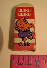 Waku Waku Club Eraser Hello Kitty Eraser In Original Cardboard Sleeve Free Ship