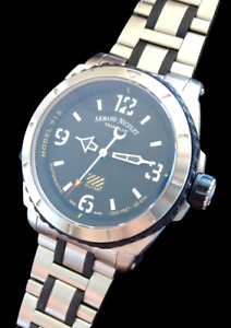 Armand Nicolet Military NAVY Diver 300M Automatic steel Men's Watch Model 713