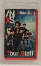 Inxs - Vintage Original Concert Tour Laminate Backstage Pass