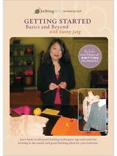 Getting Started Knitting Basics and Beyond with Eunny Jang DVD