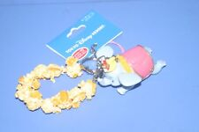DISNEY Dumbo Timothy Popcorn Keychian Strap Figure Tokyo Disney Resort JAPAN