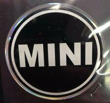 Adesivo coprimozzo ruota ruote centro cerchione in resina 3D stemma BMW Mini