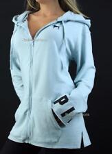 Victoria's Secret PINK Full Zip Hoodie Stretch Tunic Logo Sweatshirt NWT