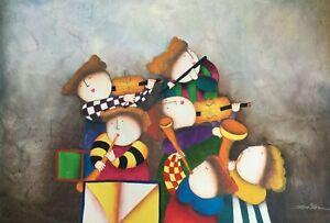 "J Roybal Oil Painting 24"" x 36""  #6"