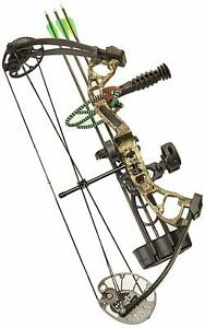 New 2018 PSE Mini Burner Ready To Shoot Package RH Mossy Oak Country Camo 40#