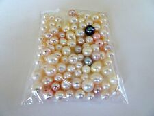 Genuine Multi Color Shape and Size Loose  Cultured Pearls 2 Ounces Per Package