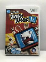 Rayman Raving Rabbids Game TV Party (Nintendo Wii) Complete w/ Manual