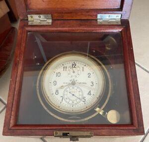 Marine Chronometer UDSSR 1973 Kirow Nr. 18861
