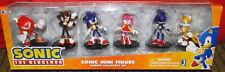 "Jazwares Sonic The Hedgehog Sonic ""Modern Collector's Set Figures New Rare"