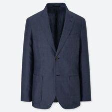 Uniqlo U Men's Navy Suit Blazer Jacket Size L Large New With Tags