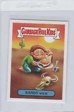 Garbage Pail Kids Sandy Wich 5a GPK 2017 Adam Geddon trading card sticker