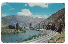 YAKIMA RIVER CANYON Near Ellensburg Scenic Highway WASHINGTON Postcard WA