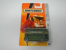 Matchbox City Action Routemaster Bus Green #52